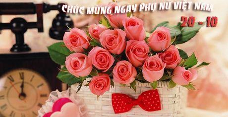 Ngay 20/10: Goi y cach chon va tang hoa y nghia nhat - Anh 1