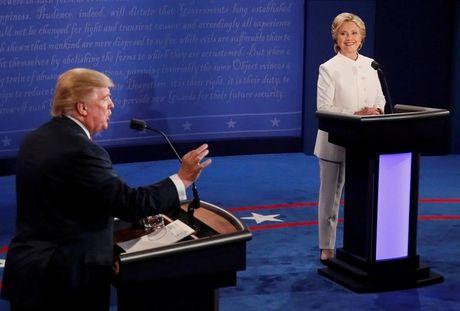 Trump - Clinton: Chien tranh lanh trong tran dau cuoi cung - Anh 1