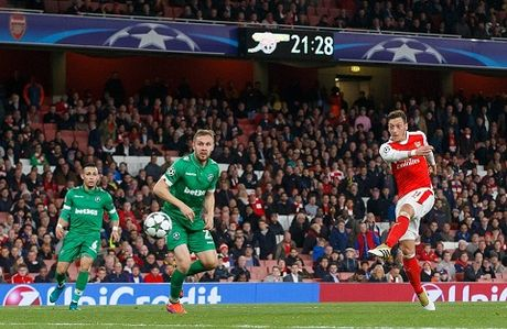DIEM NHAN: Arsenal nay da khac. Walcott va Oezil qua tuyet. Ospina chac chan hon - Anh 5