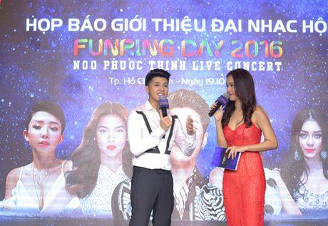 Noo Phuoc Thinh va Dai nhac hoi Funring Day 2016 - Anh 1