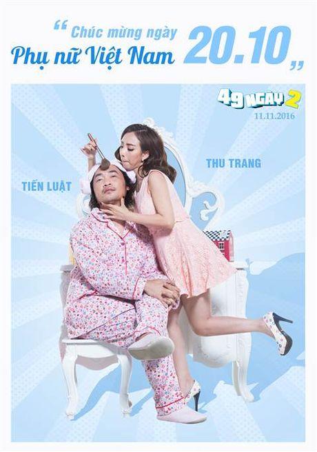 Hai huoc canh phong ngu cua vo chong 'Hoa hau hai' Thu Trang - Anh 2