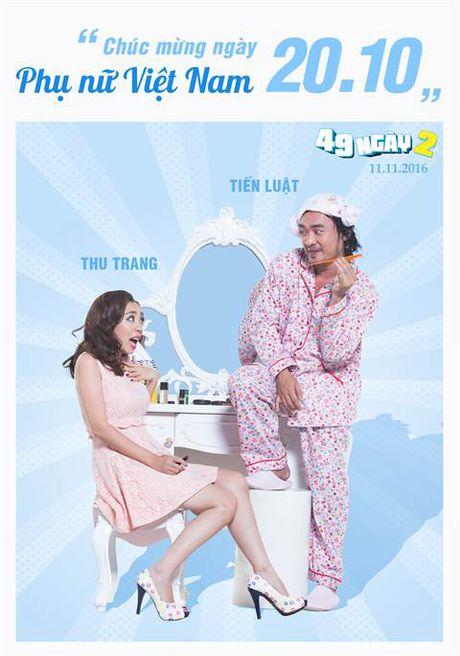 Hai huoc canh phong ngu cua vo chong 'Hoa hau hai' Thu Trang - Anh 3