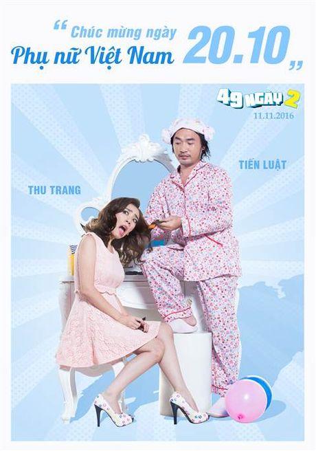Hai huoc canh phong ngu cua vo chong 'Hoa hau hai' Thu Trang - Anh 4