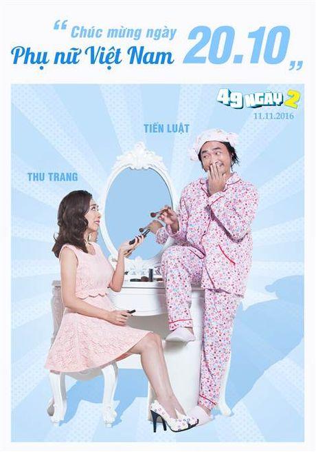 Hai huoc canh phong ngu cua vo chong 'Hoa hau hai' Thu Trang - Anh 5