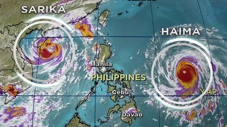 Sieu bao Haima tan pha phia bac Philippines - Anh 1