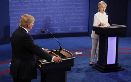 So gang Trump-Cinton lan cuoi: Khong nhieu bat ngo - Anh 1