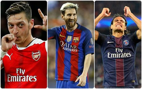 Top 10 chan sut tot nhat Champions League 16/17: Messi va phan con lai - Anh 1