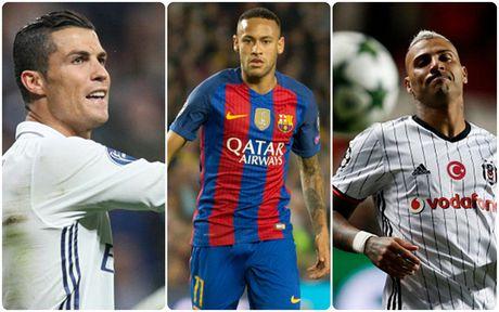 Top 10 'vua kien tao' Champions League 16/17: Neymar bo xa Ronaldo - Anh 1