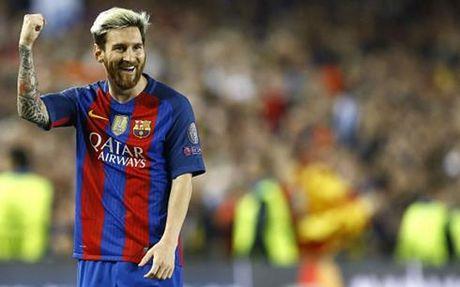 Man trinh dien 'sieu hang' cua Messi o tran Barca 4-0 Man City - Anh 1