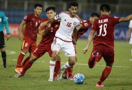 Xem truc tiep tran dau U19 Trieu Tien - tuyen U19 UAE - Anh 1