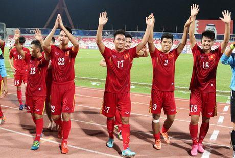 U19 chau A: Nha vo dich bi loai, Viet Nam cach World Cup 1 tran dau - Anh 1