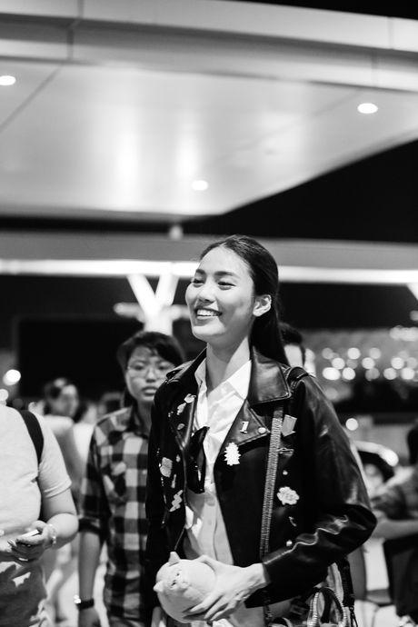 'Thay tro' Lan Khue-Mai Ngo tham du Tuan le thoi trang Seoul - Anh 2