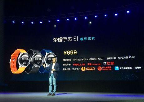 Honor trinh lang tablet Media Pad 2 va smartwatch Watch S1 - Anh 3