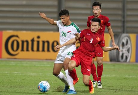 Vao tu ket chau A, U19 Viet Nam 'lam kho' DT Viet Nam - Anh 1