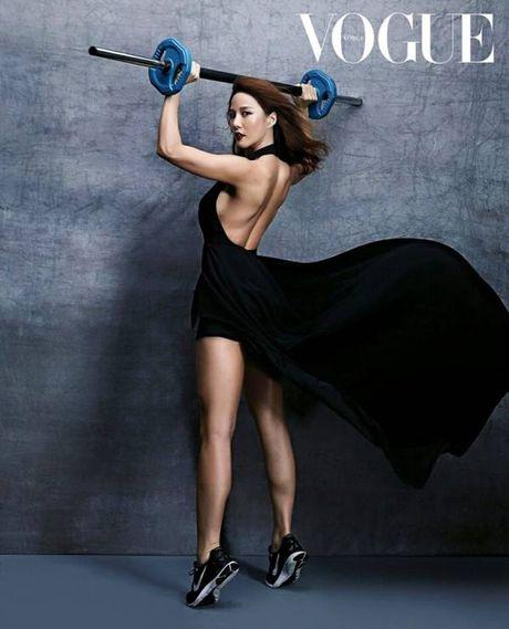 Than hinh 'than Ve Nu' cua my nhan phong gym xu Han - Anh 10