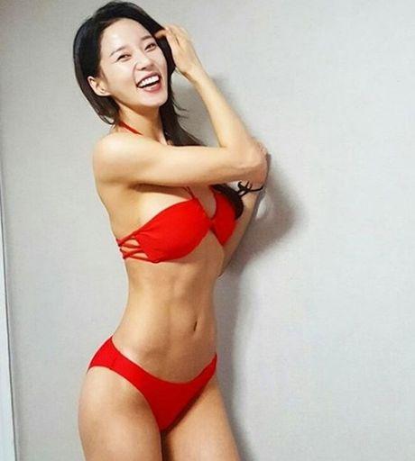 Than hinh 'than Ve Nu' cua my nhan phong gym xu Han - Anh 13