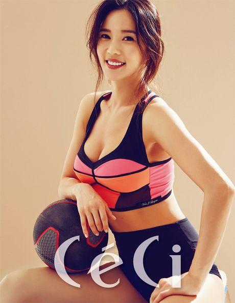 Than hinh 'than Ve Nu' cua my nhan phong gym xu Han - Anh 19