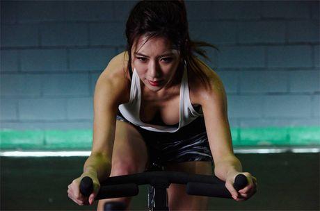 Than hinh 'than Ve Nu' cua my nhan phong gym xu Han - Anh 20