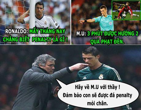 HAU TRUONG (21.10): Mourinho dung penalty 'du do' Ronaldo - Anh 2