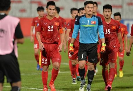 HLV Hoang Anh Tuan noi gi khi U19 Viet Nam doat ve vao Tu ket? - Anh 1