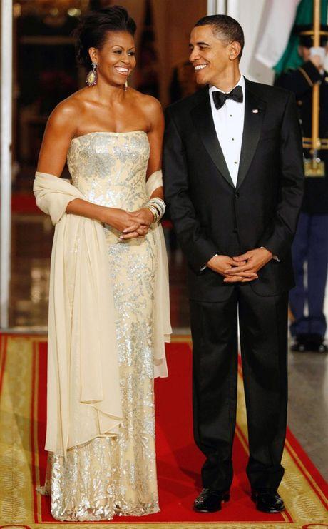 Nhung bo vay dep nhat cua de nhat phu nhan Michelle Obama - Anh 1