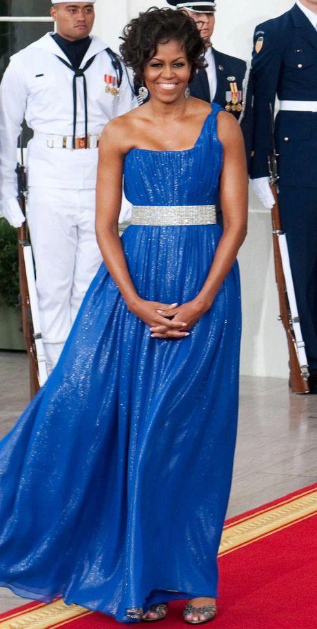 Nhung bo vay dep nhat cua de nhat phu nhan Michelle Obama - Anh 2