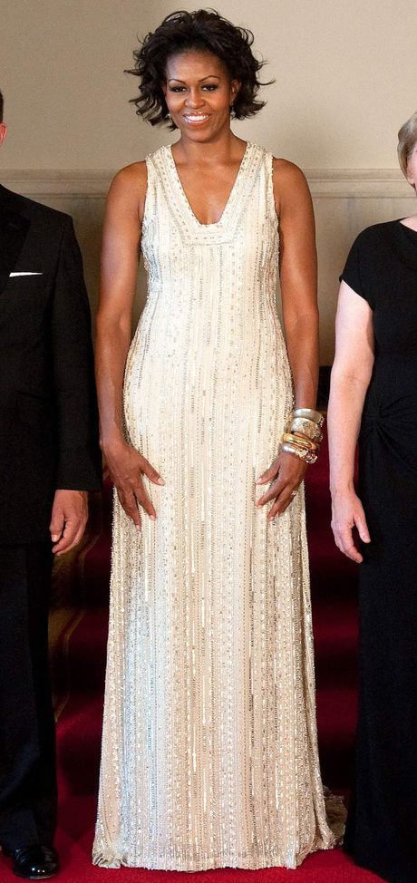 Nhung bo vay dep nhat cua de nhat phu nhan Michelle Obama - Anh 4