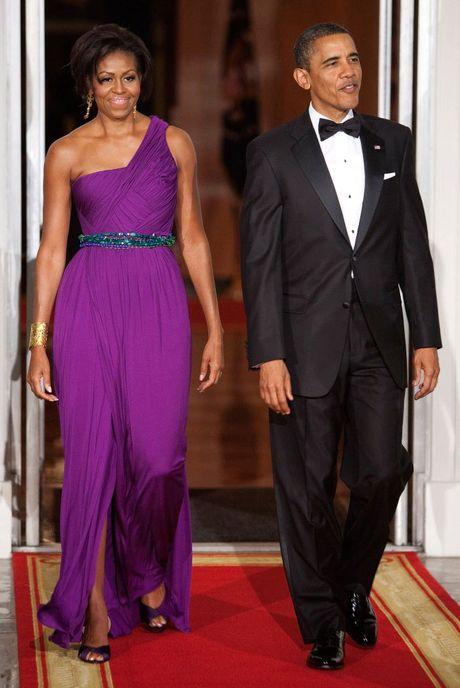 Nhung bo vay dep nhat cua de nhat phu nhan Michelle Obama - Anh 5