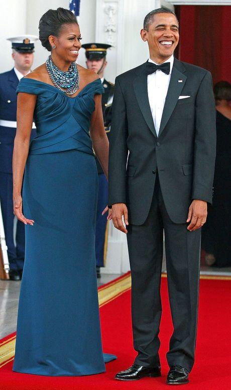 Nhung bo vay dep nhat cua de nhat phu nhan Michelle Obama - Anh 6