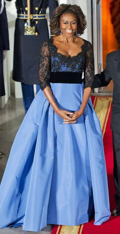 Nhung bo vay dep nhat cua de nhat phu nhan Michelle Obama - Anh 7