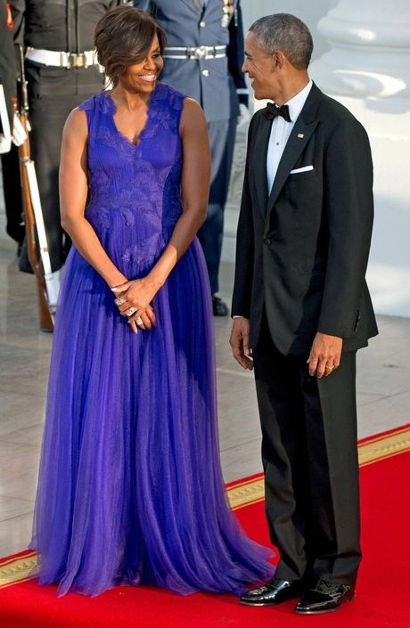 Nhung bo vay dep nhat cua de nhat phu nhan Michelle Obama - Anh 8