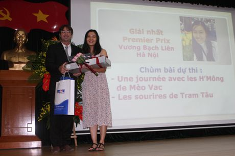 Trao giai Cuoc thi 'Phong vien tre Phap ngu -Viet Nam 2016' - Anh 1