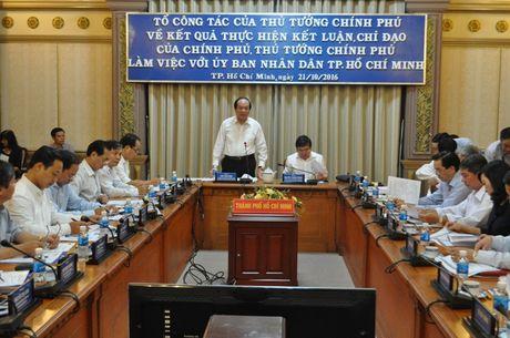 To truong To cong tac cua Thu tuong 'truy van' 13 nhiem vu ma TP. Ho Chi Minh thuc hien cham tre - Anh 2