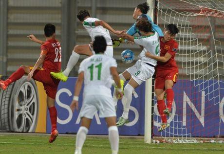 Cam hoa U19 Iraq, U19 Viet Nam lan dau gop mat o tu ket VCK U19 chau A - Anh 1