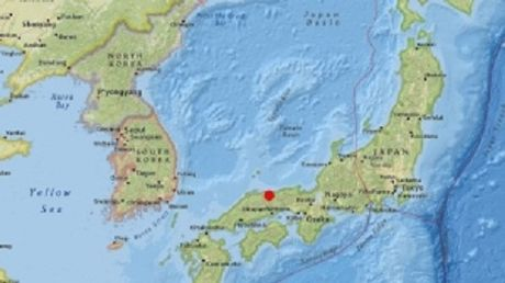 Dong dat 6,6 do Richter rung chuyen mien Tay Nhat Ban - Anh 1