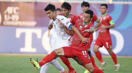 Xem truc tiep U19 U19 Uzbekistan vs U19 Trung Quoc 23h30 - Anh 1