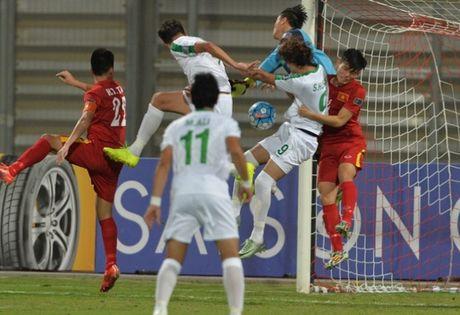 Hoa Iraq, U19 Viet Nam lan dau vao tu ket U19 chau A - Anh 1