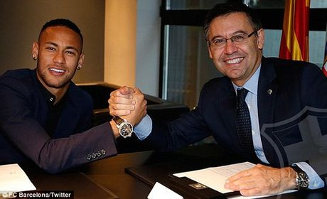 O lai Barcelona them 5 nam, Neymar khien PSG vo mong - Anh 1