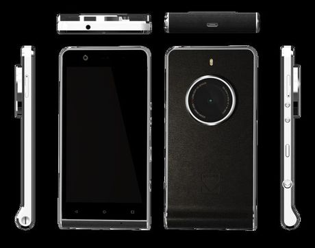 Smartphone Ektra, su tai hien cua mot huyen thoai may anh Kodak - Anh 2
