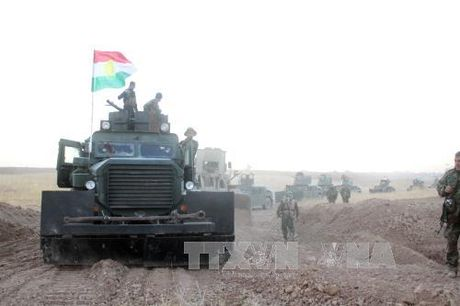 Quan doi Iraq gianh lai nhieu khu vuc o ngoai o Mosul - Anh 1