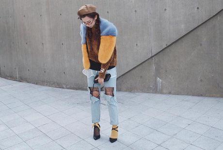 Min bit mat chat lu trong ngay cuoi o Seoul Fashion Week - Anh 7