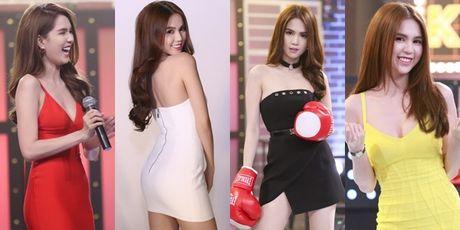 Ngoc Trinh kin dao bat ngo, thoai mai de Tran Thanh bong be - Anh 4