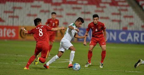 Highlight: U19 Viet Nam 0-0 U19 Iraq (Bang B U19 chau A 2016) - Anh 1