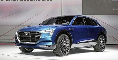 Audi ra mat thuong hieu xe dien moi - Anh 1