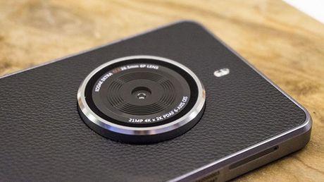 Chiec smartphone chuyen tri chup anh den tu Kodak - Anh 1