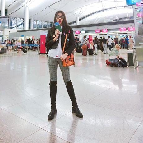 Mai Ngo mat moc van tu tin canh Lan Khue, chuan bi du Tuan le thoi trang Seoul - Anh 4