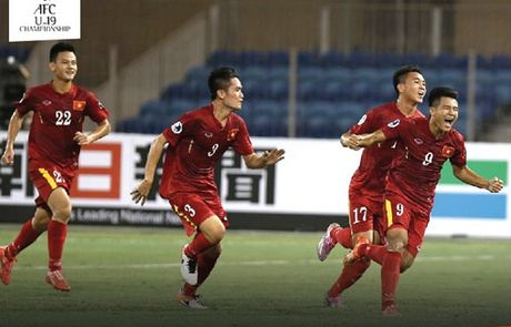 Giai U19 chau A: Viet Nam vuot mat Trung Quoc, Han Quoc, Thai Lan - Anh 1