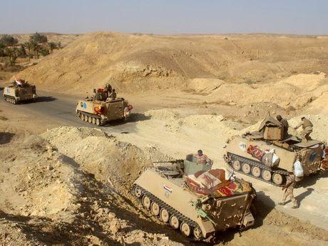 Iraq da lam chu nhieu khu vuc o ngoai o Mosul - Anh 1