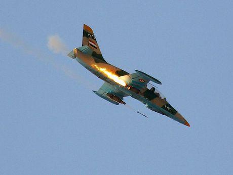 Syria doa ban roi may bay Tho Nhi Ky - Anh 1