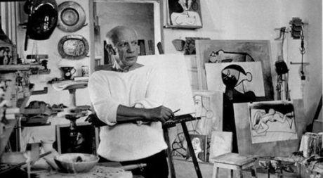 Nhung bong hong it nguoi biet trong cuoc doi danh hoa Picasso - Anh 1